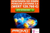 Garantiert kostenlos: Porsche Cayenne Gewinnspiel im Test