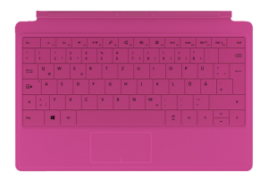 Mircosoft Surface Pro 2 Tastatur Magenta