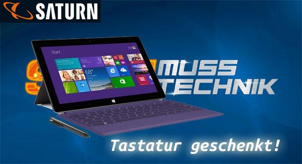 Microsoft Surface Pro 2 mit Tastatur