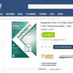 Preisvergleich: Kaspersky Pure 3.0 – Online geht es noch günstiger