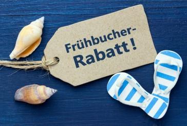 Frühbucher 2015:  Jetzt Urlaub buchen und fette Rabatte abgreifen