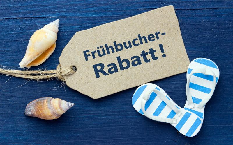 Frühbucher-Rabatt sichern