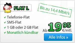 DeutschlandSIM Tarif Flat L
