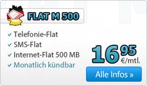 DeutschlandSIM Tarif Flat M